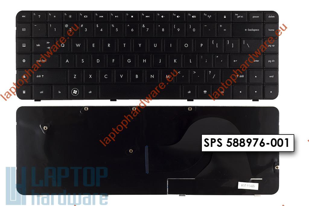 Compaq Presario CQ56, CQ62, HP G56, G62 használt US angol laptop billentyűzet (SPS 599601-001)
