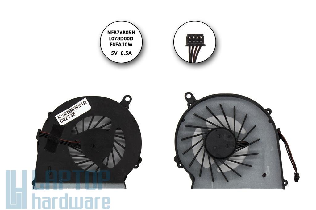 Compaq Presario CQ58, HP G58 gyári új laptop hűtő ventilátor (NFB76B05H, L073D00D, FSFA10M)