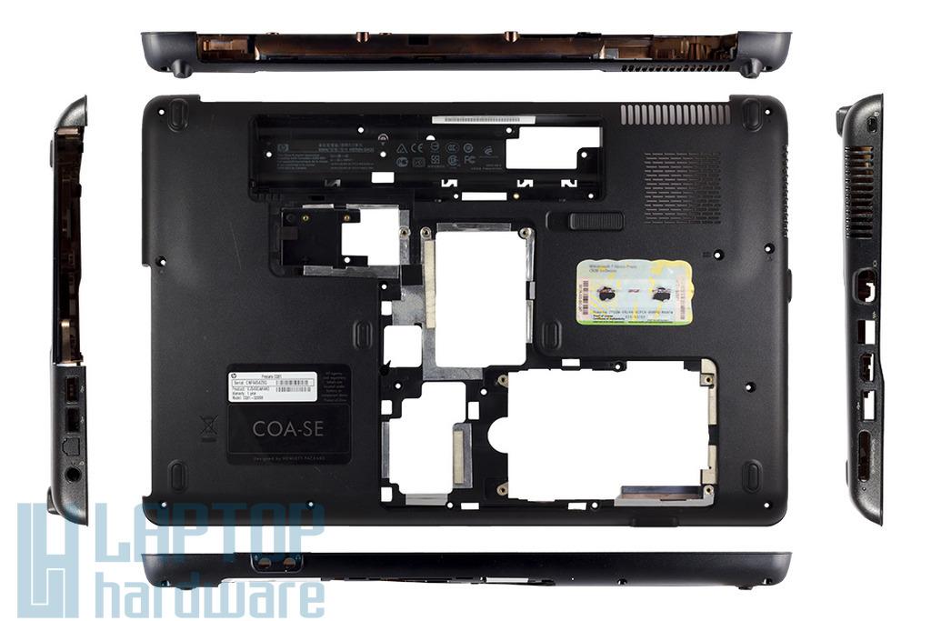 Compaq Presario CQ61 használt laptop alsó fedél, bottom case, ZYE370P6TPL03CSD461