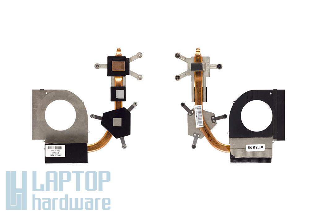 Compaq Presario CQ61 használt laptop hűtőborda, heatsink (582145-001)