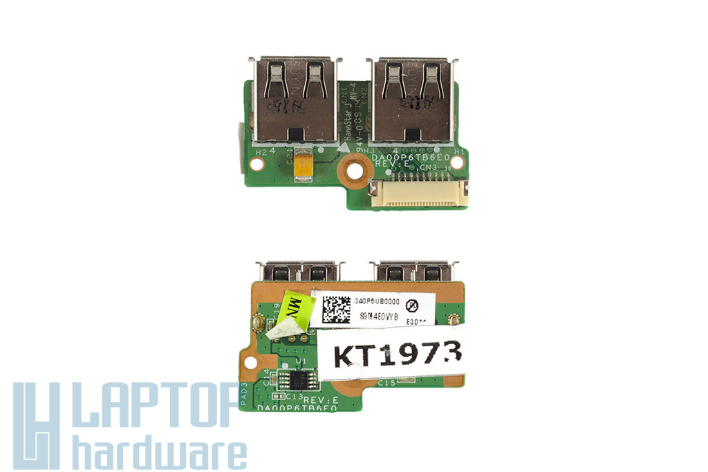 Compaq Presario CQ61, HP G61, G71 használt USB panel (340P6UB0000)