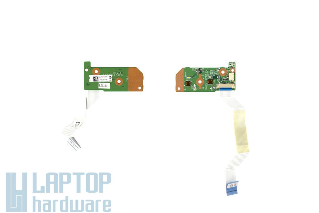 Compaq Presario CQ61, HP G61 használt bekapcsoló panel, power buttom board, DA00P6PB6E0