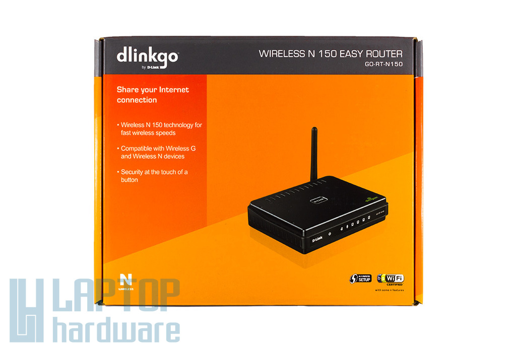 D-Link N150 Wireless N Router,  150Mbps, GO-RT-N150