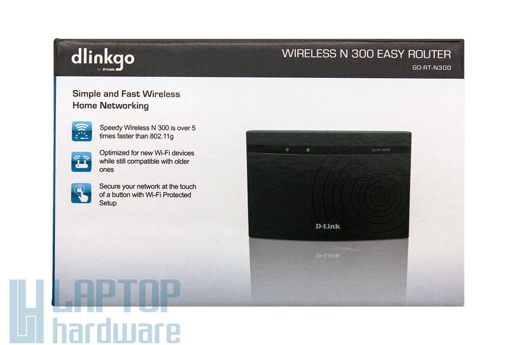 D-Link N300 Wireless N Router, 300Mbps, GO-RT-N300