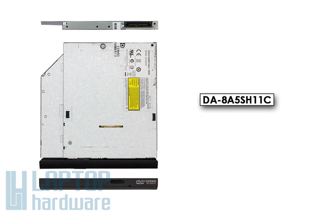 DA8A5SH használt SATA 9mm vékony Slim DVD író (DA-8A5SH11C)