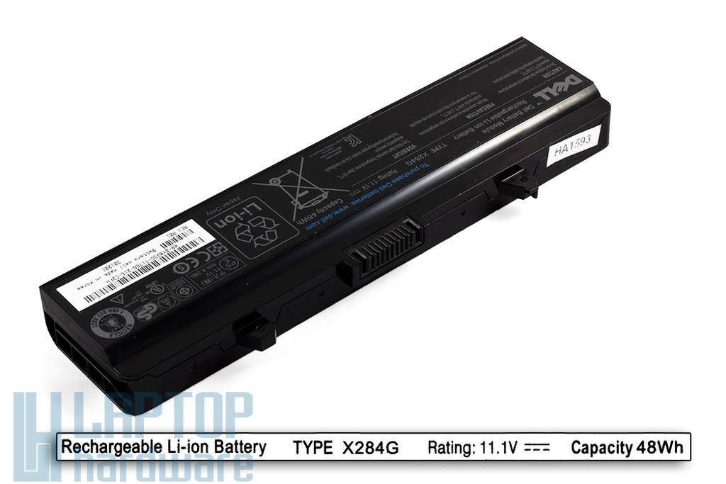 Dell 500, Inspiron 1525, 1545 gyári új 6 cellás laptop akku/akkumulátor  TYPE X284G, DPN 0N586M