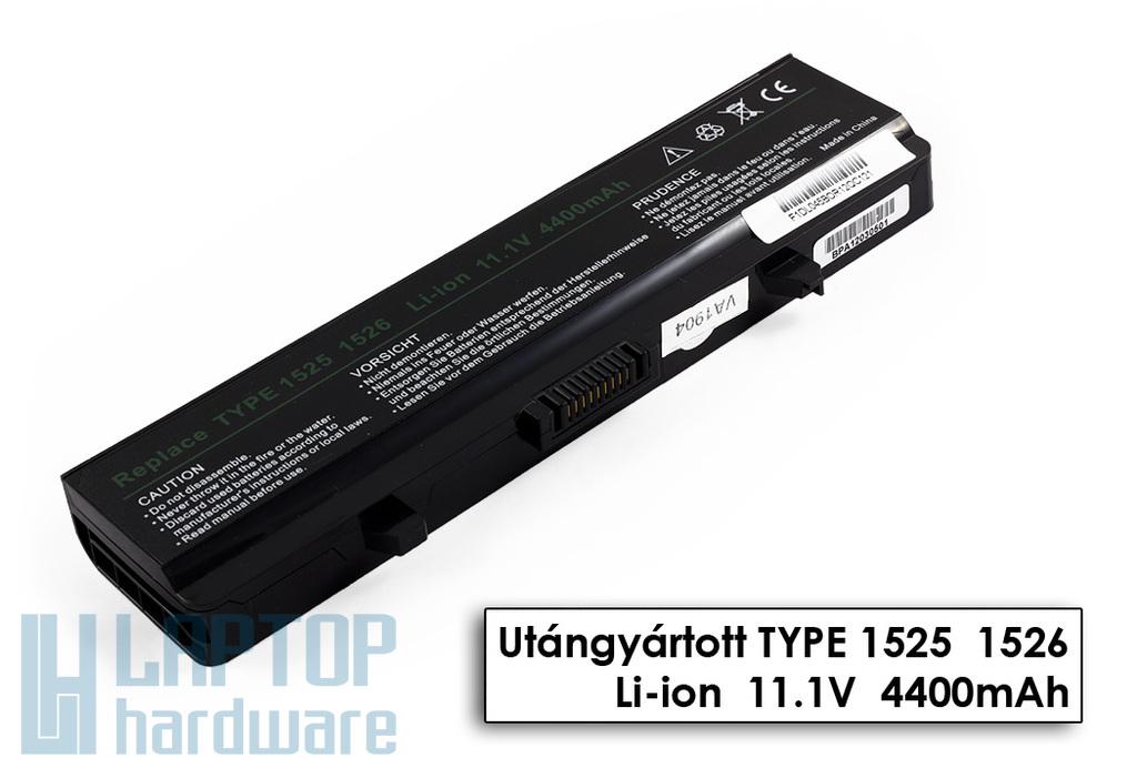 Dell 500, Inspiron 1525, 1545 helyettesítő új 6 cellás laptop akku/akkumulátor (X284G)