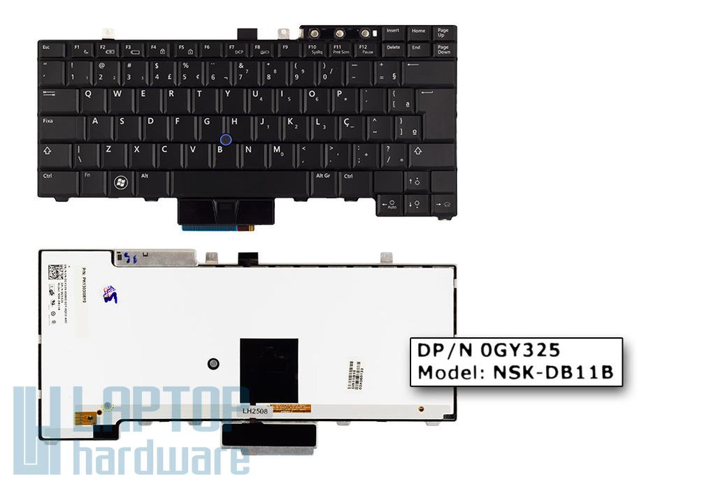Dell E5400, E6400 gyári új UK angol LED háttér-világításos laptop billentyűzet (0HT514)