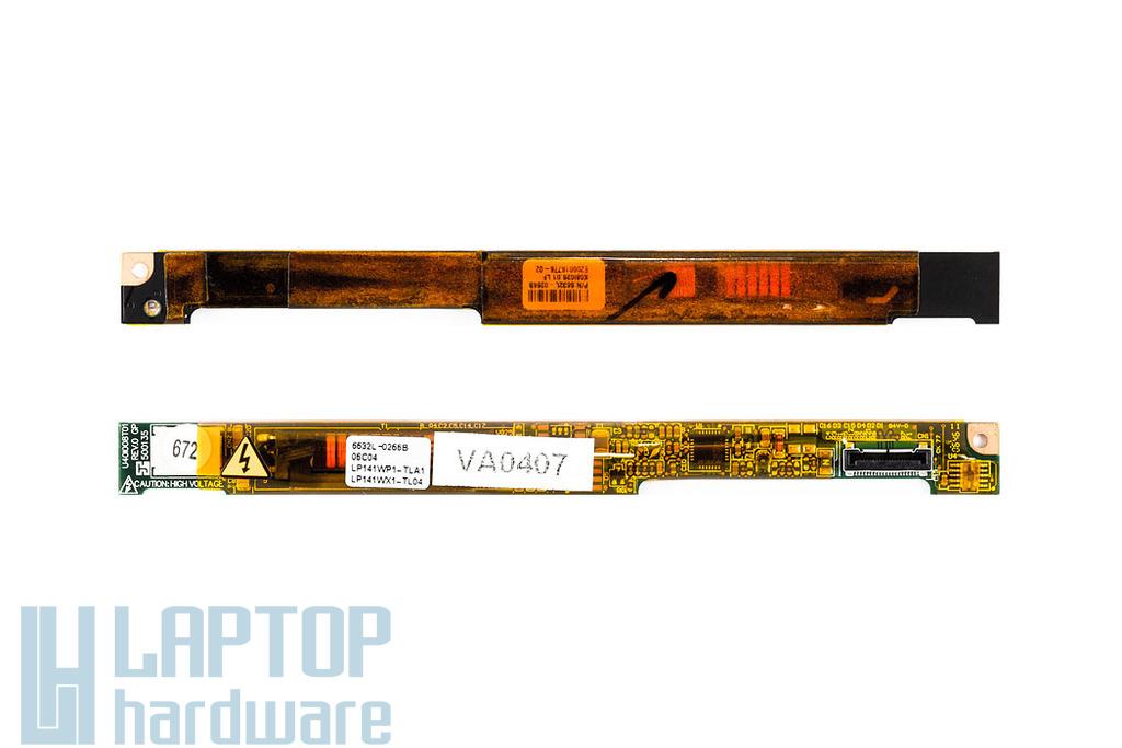 Dell Inspirion 1300, 1501, 630m használt LCD Inverter 6632L-0266B