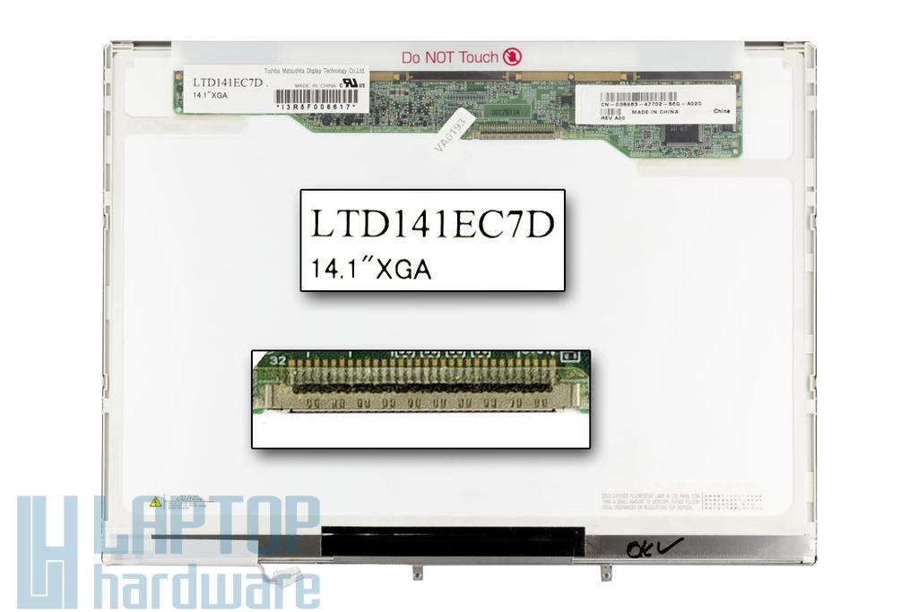 Dell Inspiron 1150, 2200, 500m, 600m használt notebook kijelző LTD141EC7D