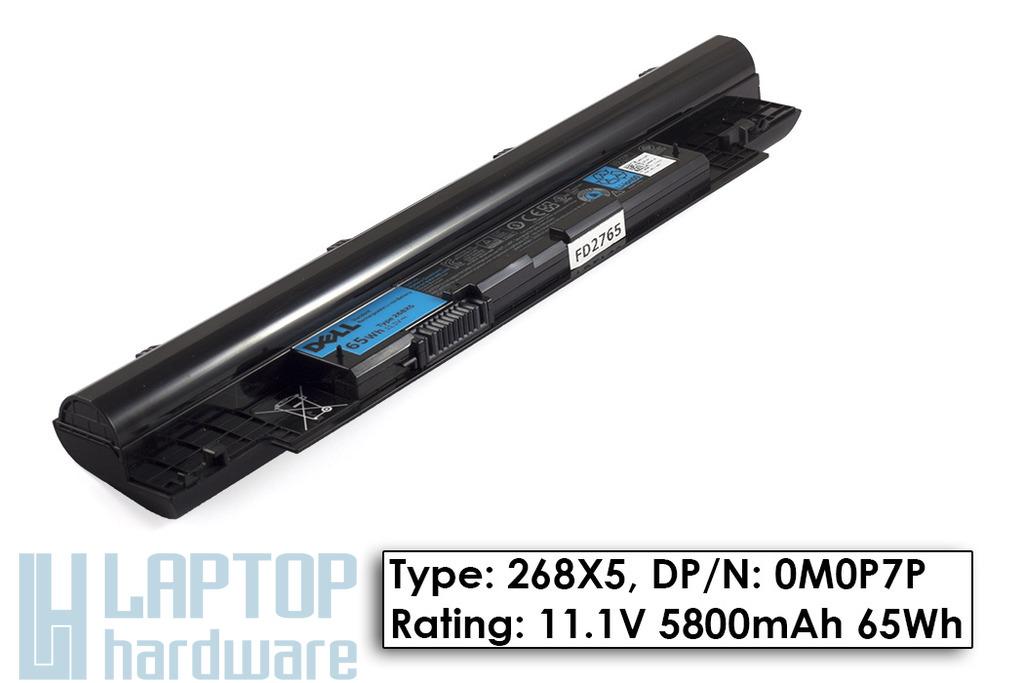 Dell Inspiron 13Z N311z, 14Z N411z, Vostro V131 gyári új 6 cellás laptop akku/akkumulátor (DPN M0P7P)