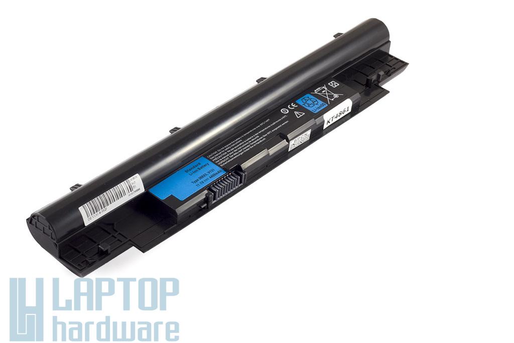 Dell Inspiron 13Z N311z, 14Z N411z, Vostro V131 helyettesítő új 6 cellás laptop akku/akkumulátor (DPN M0P7P)