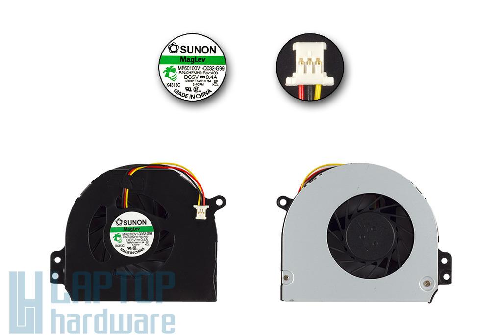 Dell Inspiron 14R, Vostro 3450 gyári új laptop hűtő ventilátor (MF60100V1-Q032-G99)