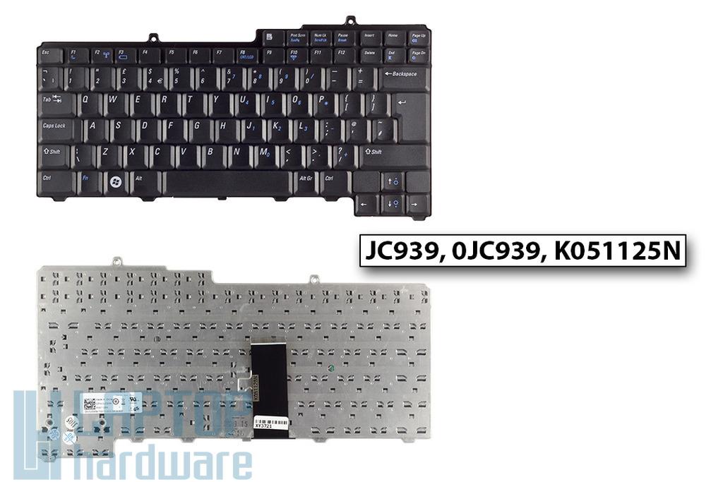 Dell Inspiron 1501, 6400, 9400 gyári új UK angol laptop billentyűzet (JC939, 0JC939)