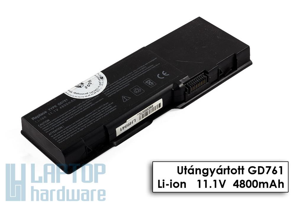 Dell Inspiron 1501, Latitude 131L, Vostro 1000 használt 75%-os 6 cellás laptop akku/akkumulátor (GD761)