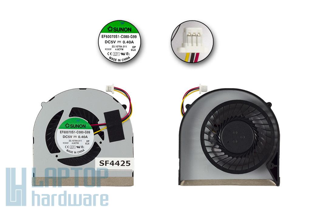 Dell Inspiron 1518, 3421, 3518 gyári új laptop hűtő ventilátor (EF60070S1-C080-G99)