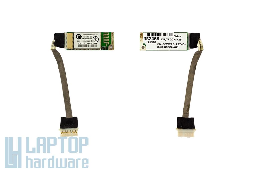 Dell Inspiron 1520 laptophoz használt Bluetooth modul kábellel (0CW725)