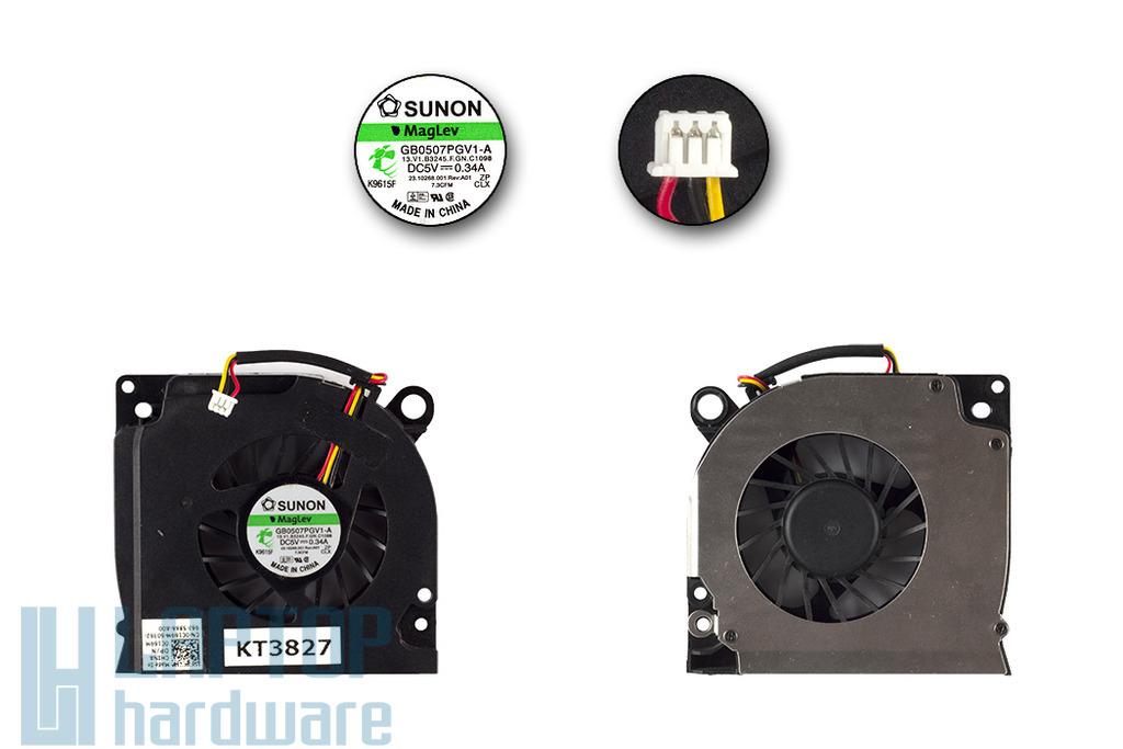 Dell Inspiron 1525, 1526, 1545 használt laptop hűtő ventilátor (0C169M)