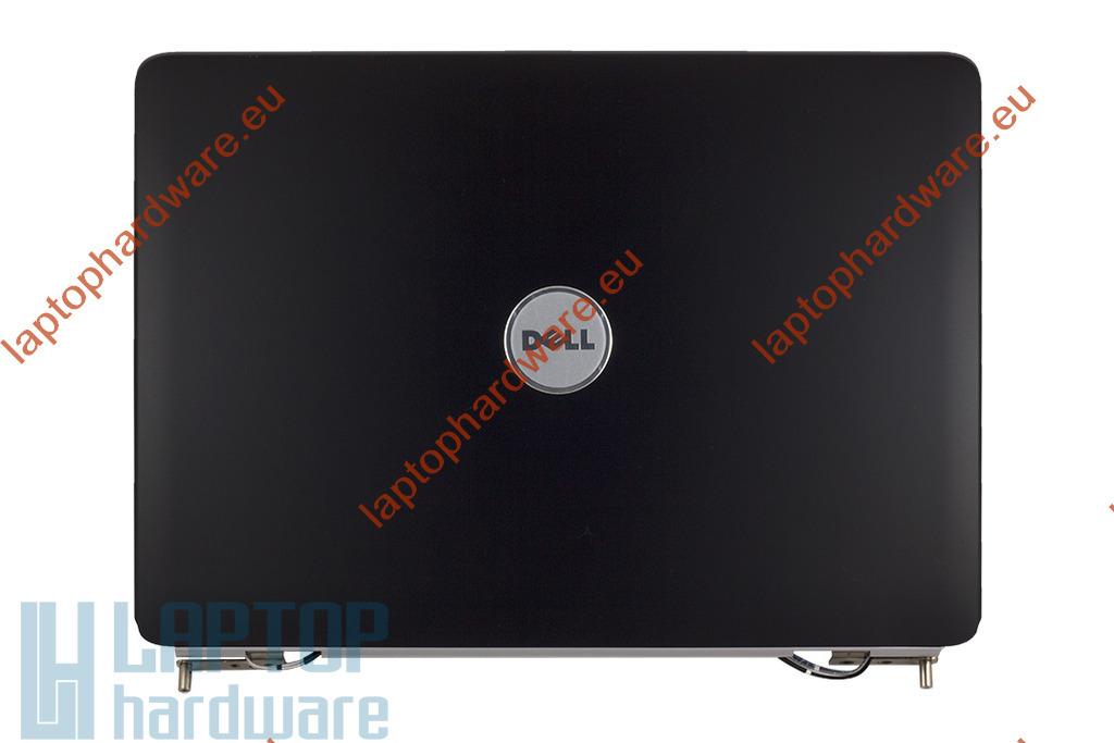 Dell Inspiron 1525, 1526 laptophoz használt fekete kijelző hátlap zsanérokkal