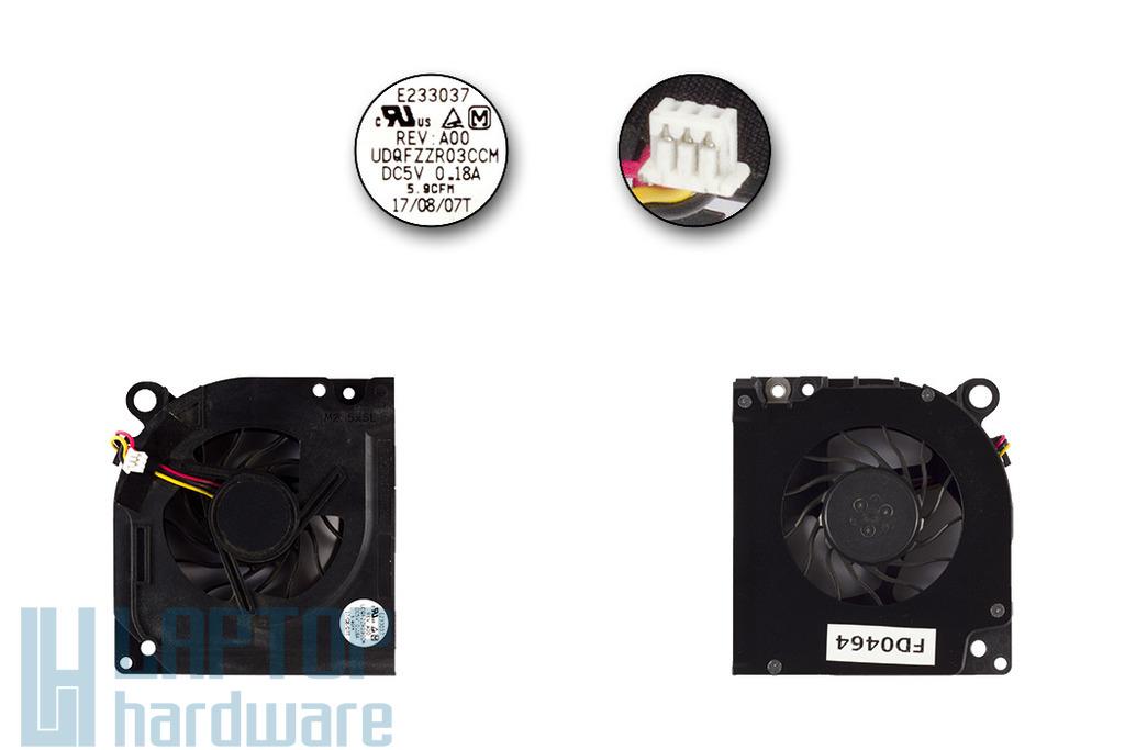 Dell Inspiron 1525, 1545, Latitude D620, D630 használt laptop hűtő ventilátor (DC28A000M0L)