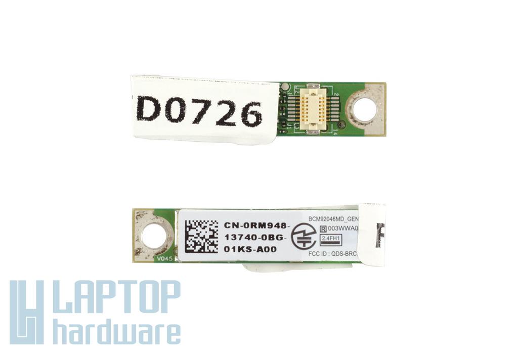Dell Studio 1745, Latitude E4300 laptophoz használt Bluetooth modul (RM948)