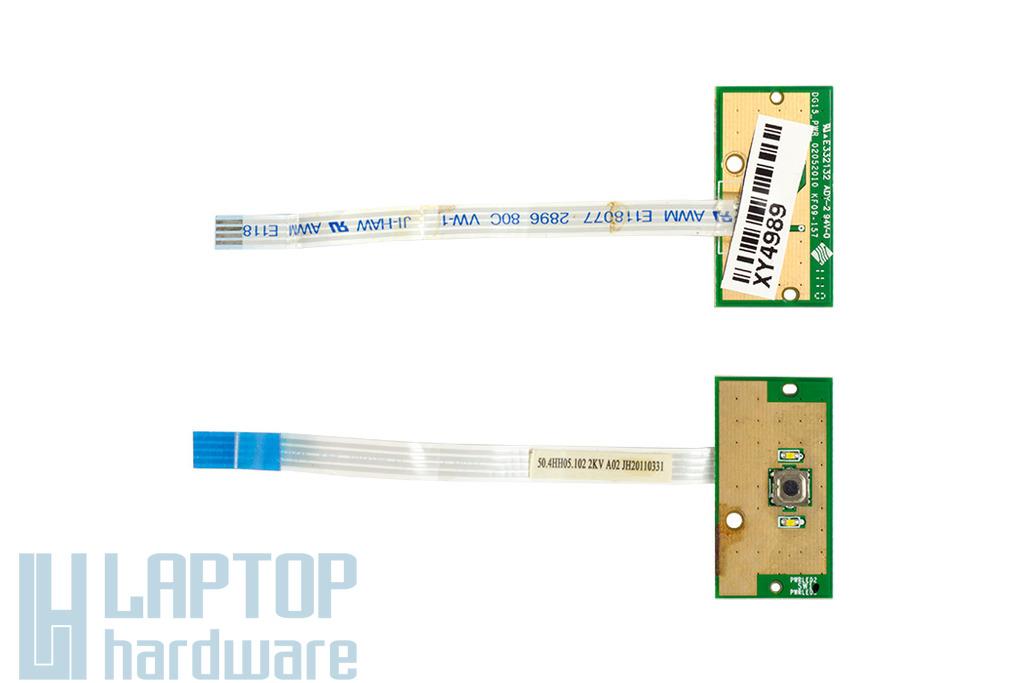 Dell Inspiron 15R N5010, M5010 laptopokhoz használt bekapcsoló panel (50.4HH05.102)