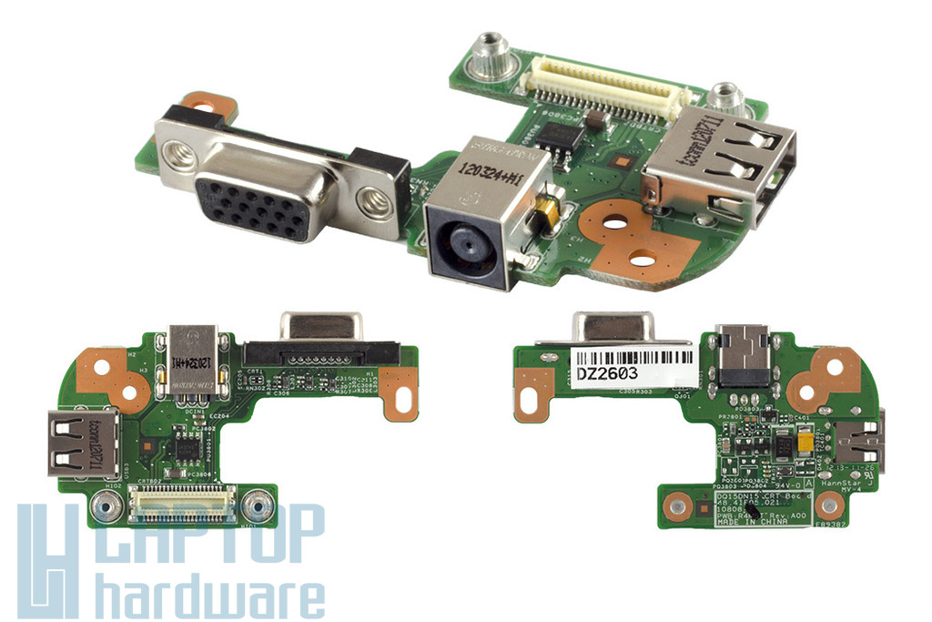 Dell Inspiron 15R N5110 gyári új laptop DC/VGA/USB panel, 0PFYC8