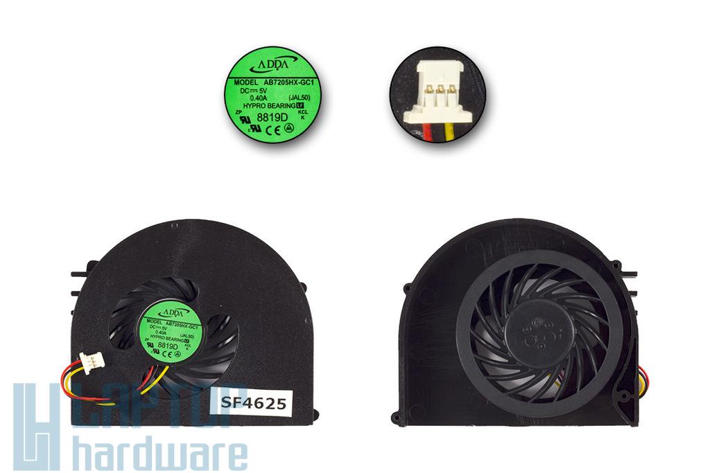 Dell Inspiron 15R N5110 gyári új laptop hűtő ventilátor (MF60090V1-C210-G99)