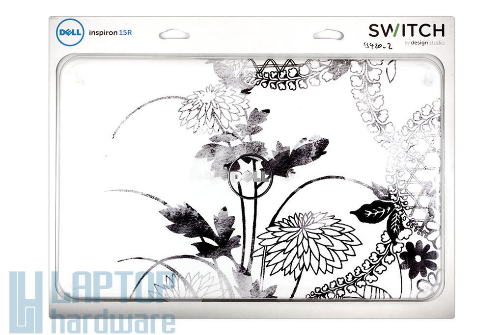 Dell Inspiron 15R, N5110 laptop cserélhető (SWITCH) LCD hátlap, Lovers in morning, 0834Y1