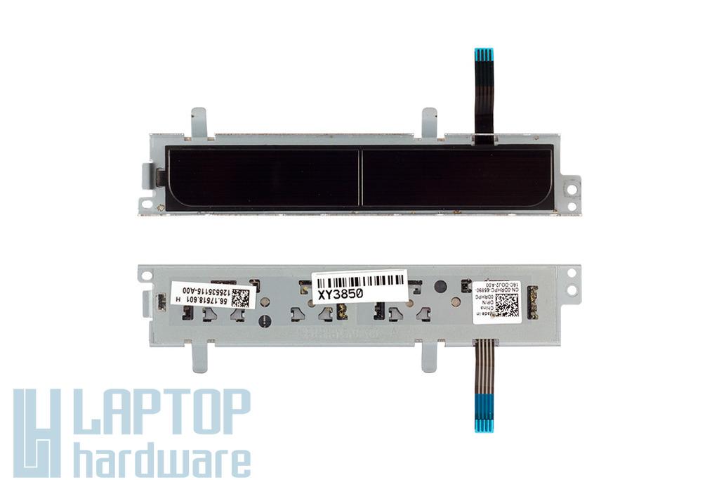 Dell Inspiron 15R (N5110) laptopokhoz használt fekete jobb és bal touchpad gomb (56.17518.601)