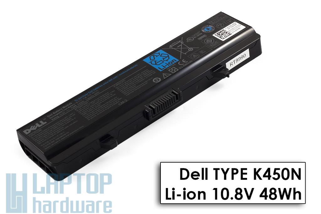 Dell Inspiron 1750 gyári új 6 cellás laptop akku/akkumulátor (K450N, 0G558N)