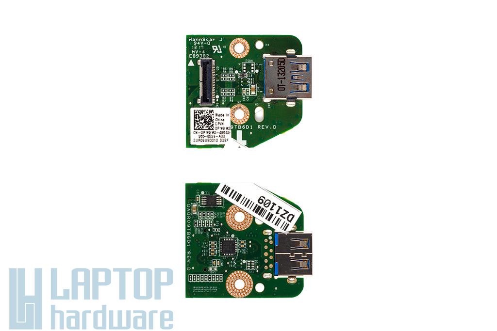 Dell Inspiron 5720, 7720 laptophoz gyári új USB 3.0 panel 0PW9W2