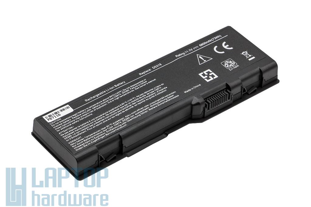 Dell Inspiron 6000, 9200, 9300 helyettesítő új 9 cellás laptop akku/akkumulátor (U4873)