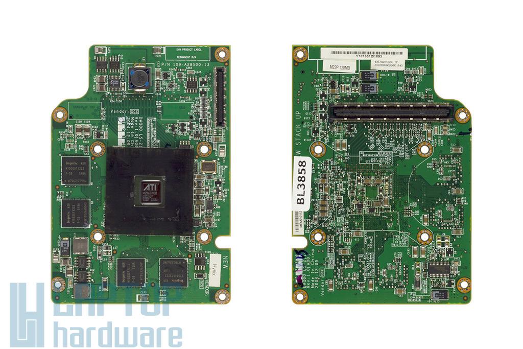 Dell Inspiron 6000, 9300 laptophoz használt Ati Radeon X300 VGA kártya, 128MB DDR2 (LS-2114)