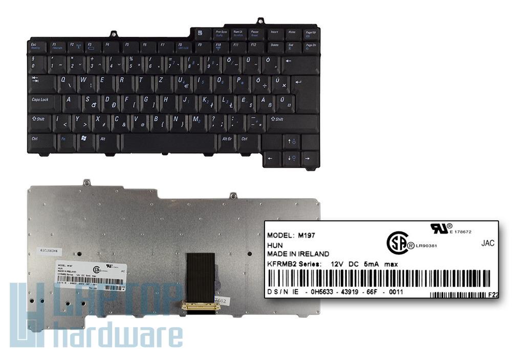 Dell Inspiron 6000, Latitude D510 gyári új magyar laptop billentyűzet (0H5633)