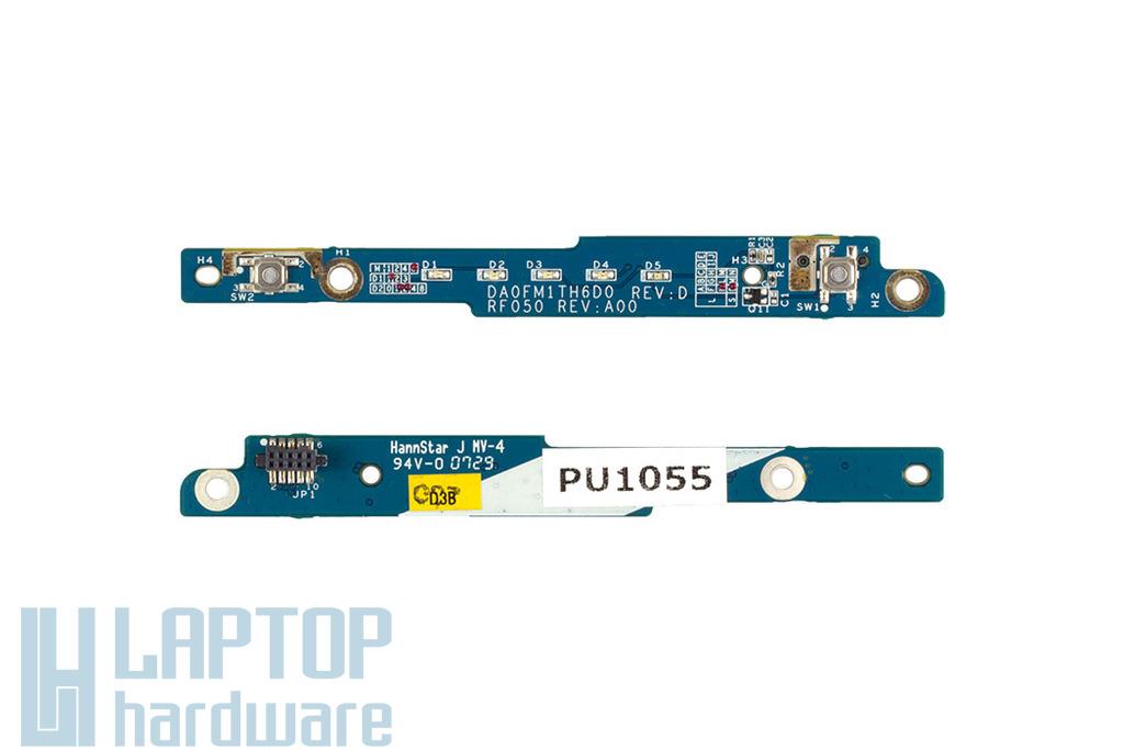 Dell Inspiron 6400 laptophoz használt Bekapcsoló panel (DA0FM1TH6D0)
