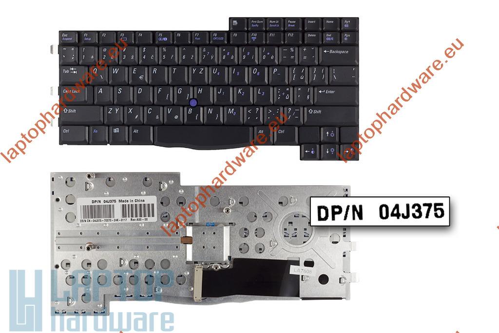 Dell Inspiron 8000,8200,Latitude C840 használt angol fekete laptop billentyűzet(01J812)