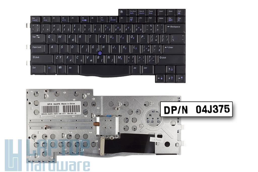 Dell Inspiron 8200, Latitude C840 gyári új angol fekete laptop billentyűzet (04J375)