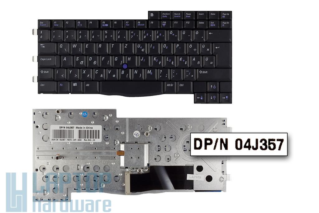Dell Inspiron 8200, Latitude C840 gyári új magyar laptop billentyűzet (04J357)