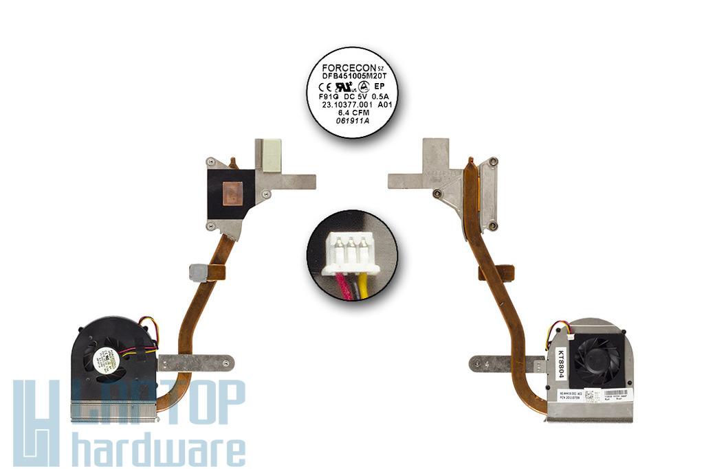 Dell Inspiron M5010 használt komplett laptop hűtőegység (0K28PW)