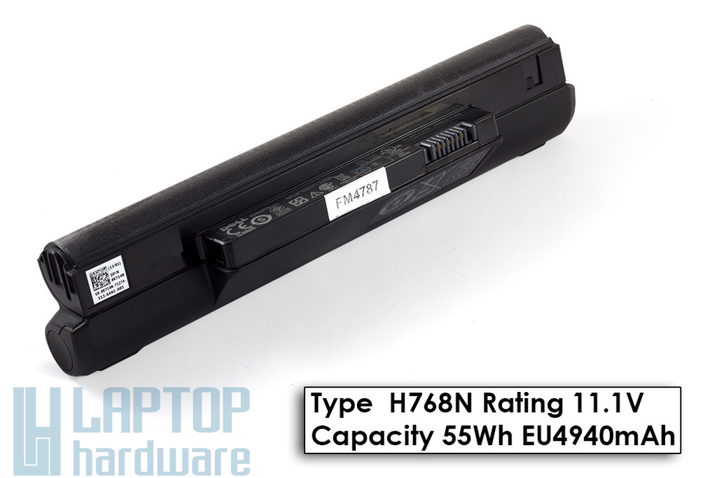 Dell Inspiron Mini 10, 1010 gyári új 6 cellás laptop akku/akkumulátor  TYPE H768N, DP/N 0K714N