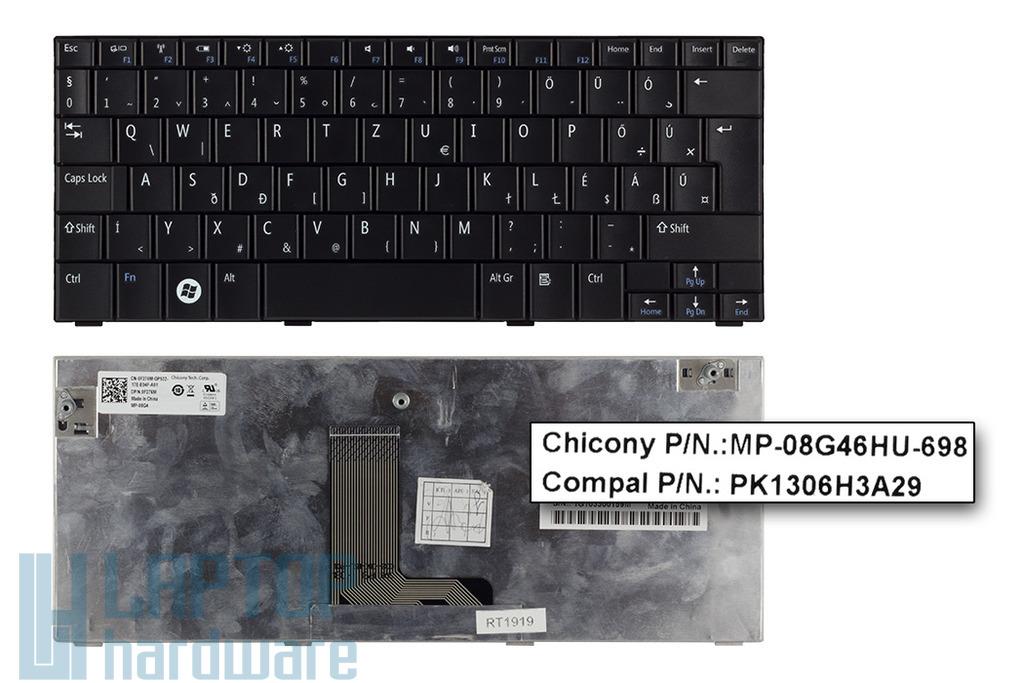 Dell Inspiron Mini 10, 10v, 1010, 1011 gyári új magyar laptop billentyűzet, 0F276M