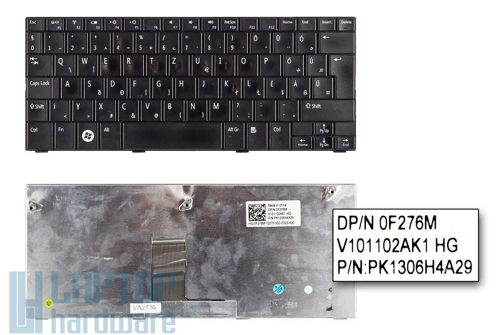 Dell Inspiron Mini 10, 10v, 1010, 1011 használt magyar laptop billentyűzet (0F276M)