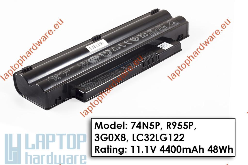 Dell Inspiron Mini 1012, 1018 használt 6 cellás laptop akku/akkumulátor 90% (74N5P, R955P)