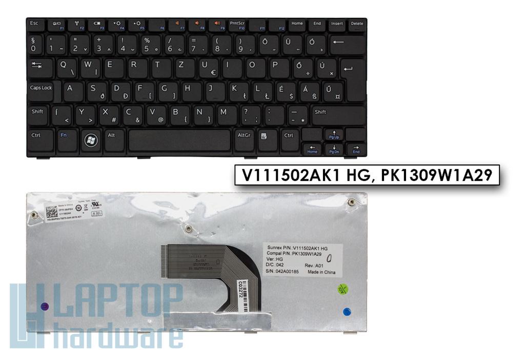 Dell Inspiron Mini 1012, 1018 gyári új magyar fekete laptop billentyűzet (084PW4)