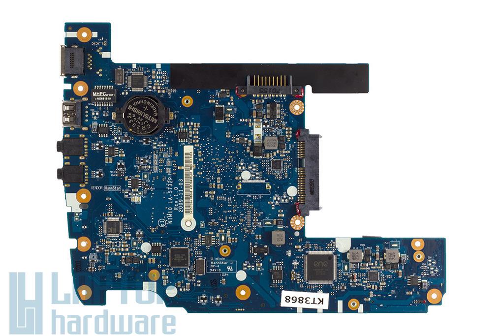 Dell Inspiron Mini 1012 laptophoz használt alaplap (LA-5732P)