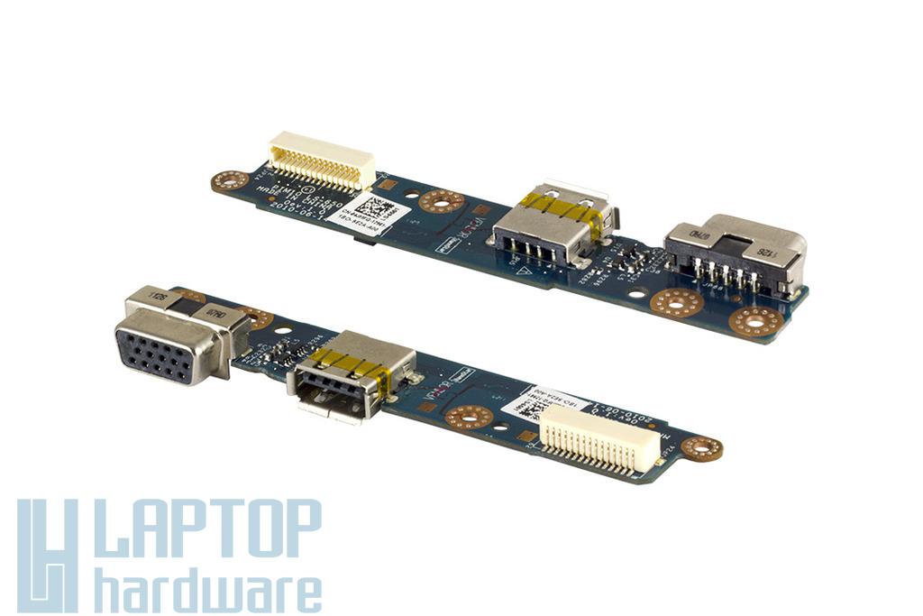 Dell Inspiron Mini 1018 laptophoz használt USB és VGA panel (04JMFG)