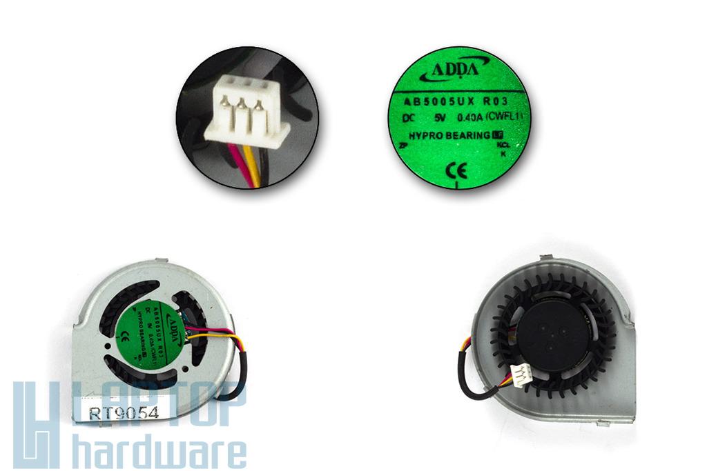 Dell Inspiron Mini 12 gyári új laptop hűtő ventilátor (AB5005UX R03)