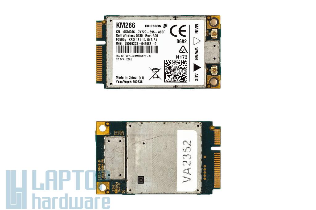 Dell Inspiron Mini 9, 10, Latitude E6410, E6500 HSDPA modem Ericsson KM266