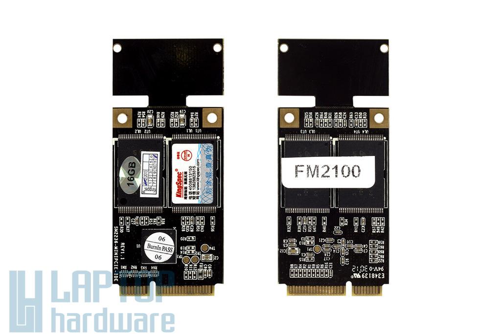 Dell Inspiron Mini 9, Kingspec 16GB SSD Mini PCIe kártya, KSD-PMP.15-xxxMS